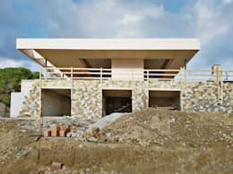 Work in progress: Case in stile in stile Mediterraneo di Davide Ceron Architetto
