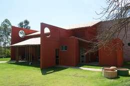 Costa Lima Arquitetura Design e Construções Ltda: rustik tarz tarz Evler