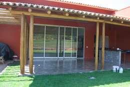 Casas de estilo rústico por Costa Lima Arquitetura Design e Construções Ltda