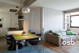 Despacho - habitación: Estudios y despachos de estilo moderno de osb reformas