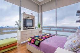 Fotografía de Interiores: Recámaras de estilo moderno por FOTOIMX: Fotógrafo de Inmuebles en CDMX