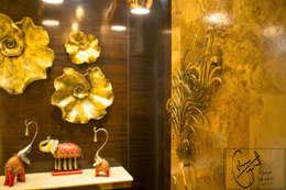 Goel's, Aanandam World City, Raipur:  Corridor & hallway by ES Designs