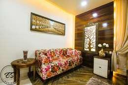 Goel's, Aanandam World City, Raipur: modern Bedroom by ES Designs