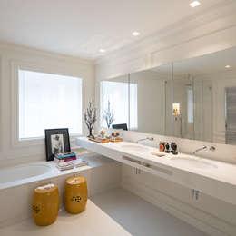 Casa de banho: Casas de banho modernas por NVE engenharias, S.A.