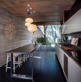 Cocina: Cocinas de estilo moderno por Eduardo Gutiérrez Taller de Arquitectura