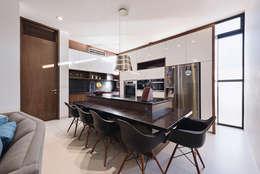 Casa del Árbol: Cocinas de estilo moderno por Ancona + Ancona Arquitectos