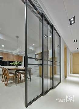 禾廊室內設計의  창문 & 문