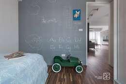 黑板漆:  嬰兒/兒童房 by 禾廊室內設計
