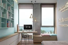 Boys Bedroom by Tobi Architects