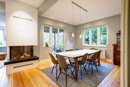 modern Dining room by LichtJa - Licht und Mehr GmbH
