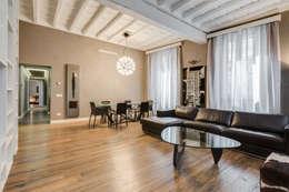 Salones de estilo moderno de EF_Archidesign