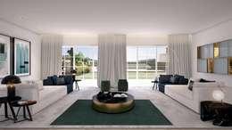 Belas: Salas de estar modernas por MRS - Interior Design