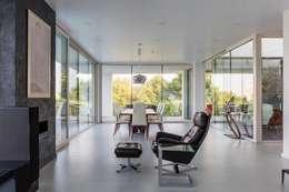 Projekty,  Salon zaprojektowane przez IDEAL WORK Srl