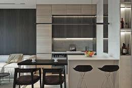 River Stone: Кухни в . Автор – U-Style design studio