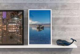 Ampliación Duplex Barranco : Salas / recibidores de estilo ecléctico por Gracia Nano Studio
