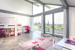 Детские комнаты в . Автор – DAVINCI HAUS GmbH & Co. KG