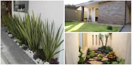 Front yard by press profile homify