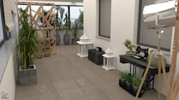 Jardim de Inverno: Jardins de Inverno modernos por NoPlaceLikeHome ®