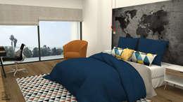 Boy Bedroom: Quartos modernos por No Place Like Home ®