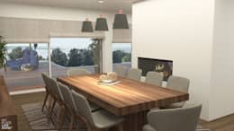 Sala de Jantar : Salas de jantar modernas por NoPlaceLikeHome ®