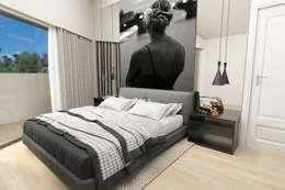 Suite Casal : Quartos modernos por NoPlaceLikeHome ®