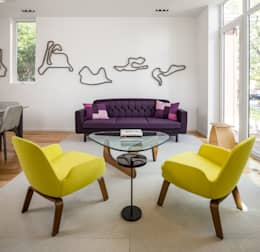 Avenue Road Residence: modern Living room by Flynn Architect