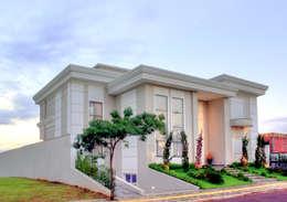 Condominios de estilo  por Penha Alba Arquitetura e Interiores