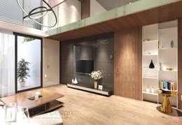 Ruang Keluarga by Công Ty TNHH Archifix Design