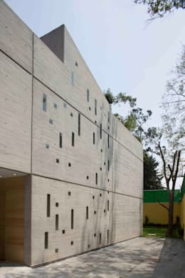 Casa Argueta: Casas unifamiliares de estilo  por Eduardo Gutiérrez Taller de Arquitectura