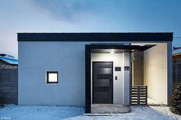 الممر والمدخل تنفيذ 단감 건축사사무소