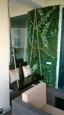 Green Wall :  Front yard by Grecor