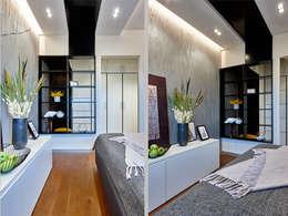 Малентькая квартира: Спальни в . Автор – Архитектурная студия Александры Спицыной