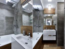 浴室 by Архитектурная студия Александры Спицыной