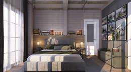 Dormitorios de estilo ecléctico por needsomespace