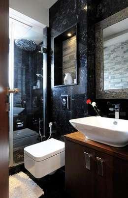 Mumbai Residence,: modern Bathroom by DesignTechSolutions