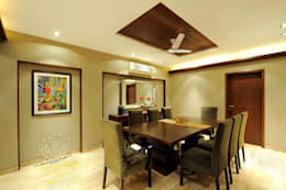 Mumbai Residence,: modern Dining room by DesignTechSolutions