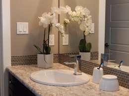 Granit Waschtisch: klassische Badezimmer von Marmor & Granit