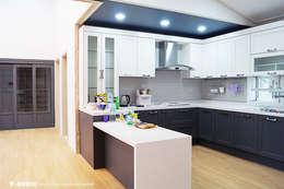 함라 신대리 2호 35평형 ALC전원주택: W-HOUSE의  주방