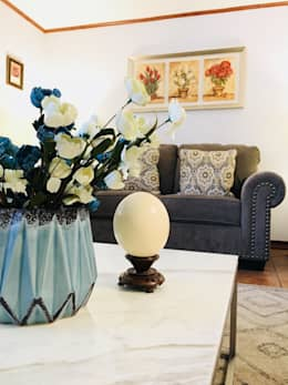 Proyecto San Josafat , La Florida .Santiago: Salas de estilo  por Oscar Saavedra Diseño y Decoración Spa