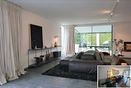 moderne Wohnzimmer von KleurInKleur interieur & architectuur