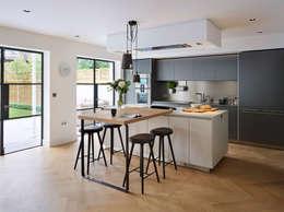 moderne Küche von Kitchen Architecture