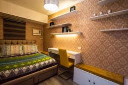 Gateway Garden Heights: modern Bedroom by TG Designing Corner