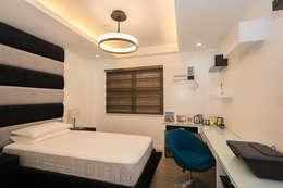 Tagaytay Southridge Estates: modern Bedroom by TG Designing Corner
