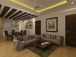 Living Room: classic Living room by Regalias India Interiors & Infrastructure
