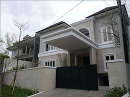 Casas de estilo moderno por sony architect studio