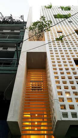 Q10 House:  Cửa sổ gỗ by Studio8 Architecture & Urban Design