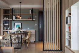 غرفة المعيشة تنفيذ 沐澄設計