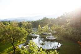 Projekty,  Ogród zaprojektowane przez Co*Good Design Co. Ltd.