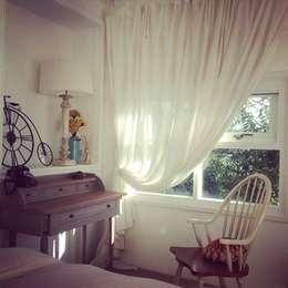 Projekty,  Sypialnia zaprojektowane przez Co*Good Design Co. Ltd.
