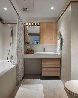 Nicky:  浴室 by Co*Good Design Co. Ltd.